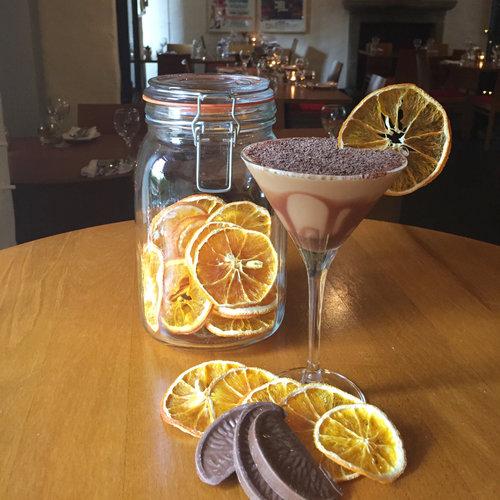 tapa terrys chocoltae orange martini